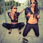 Djanes Menezes & Sari @ Kitz´n´Glamour 2014!!