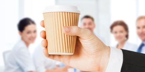 Kaffee im Büro