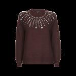 more-more-pullover-mit-ziersteinbesatz-bordeaux-rot